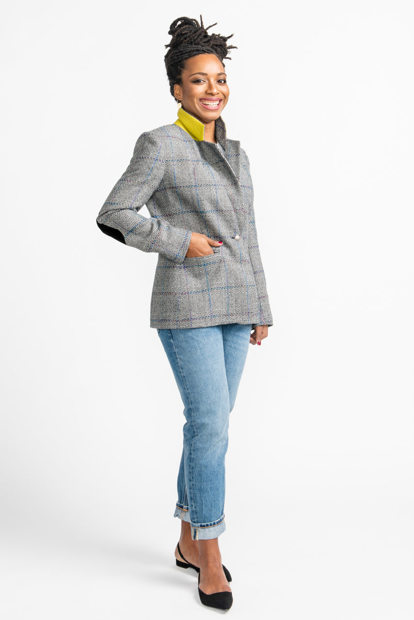 Jasika Blazer Pattern // Tailored Jacket Pattern // Closet Core Patterns