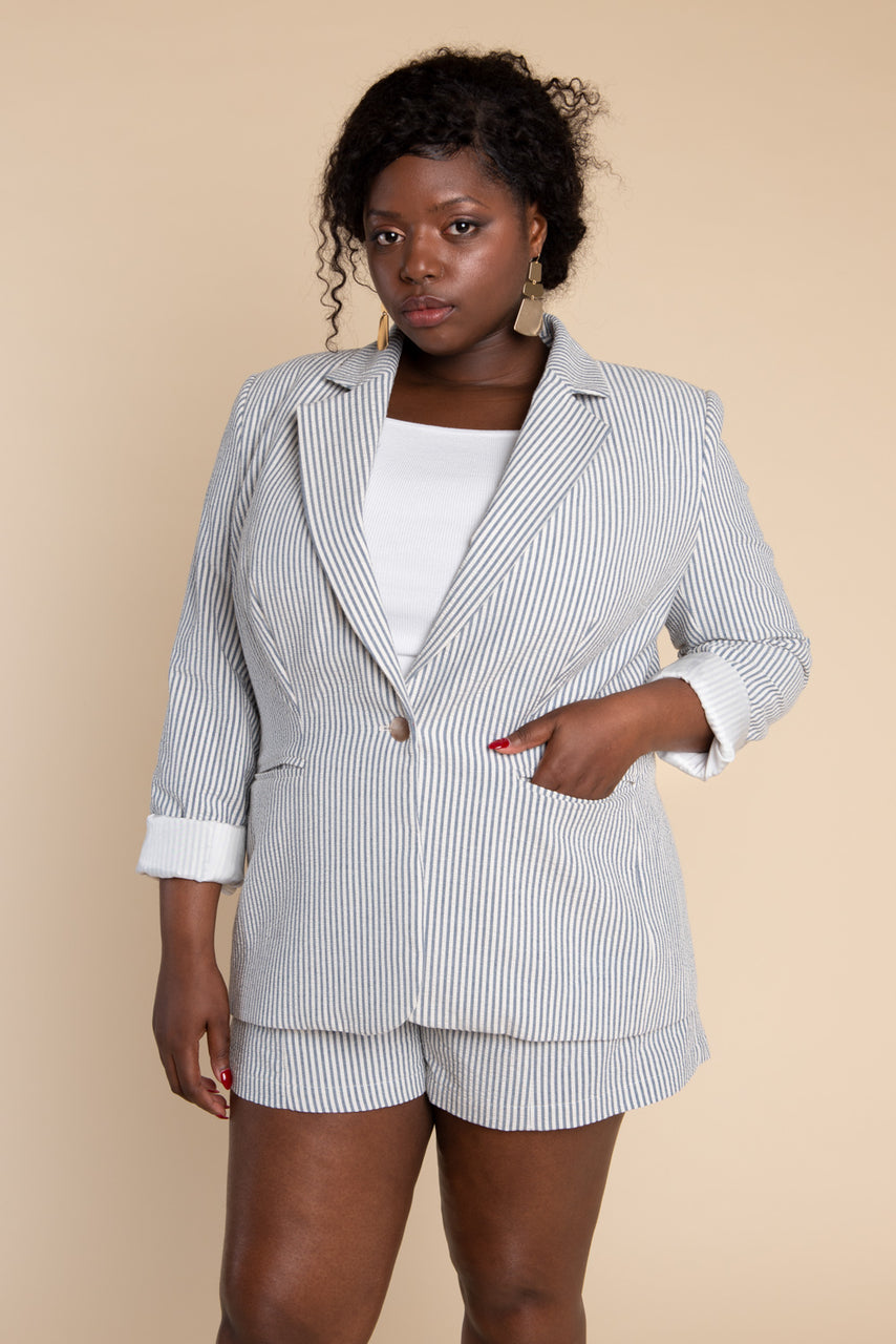Jasika Blazer Pattern - PDF Download