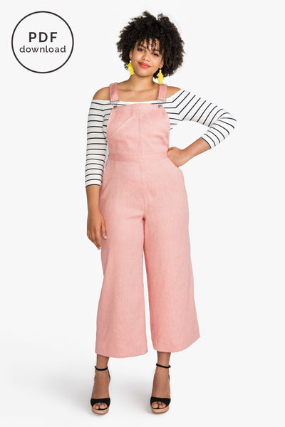 Jenny Overalls Pattern | PDF Download // from Closet Case Patterns