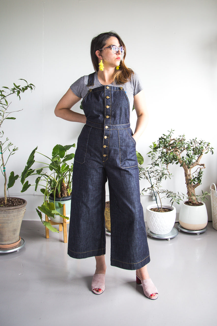 Jenny Overalls & Trousers Pattern - PDF Download