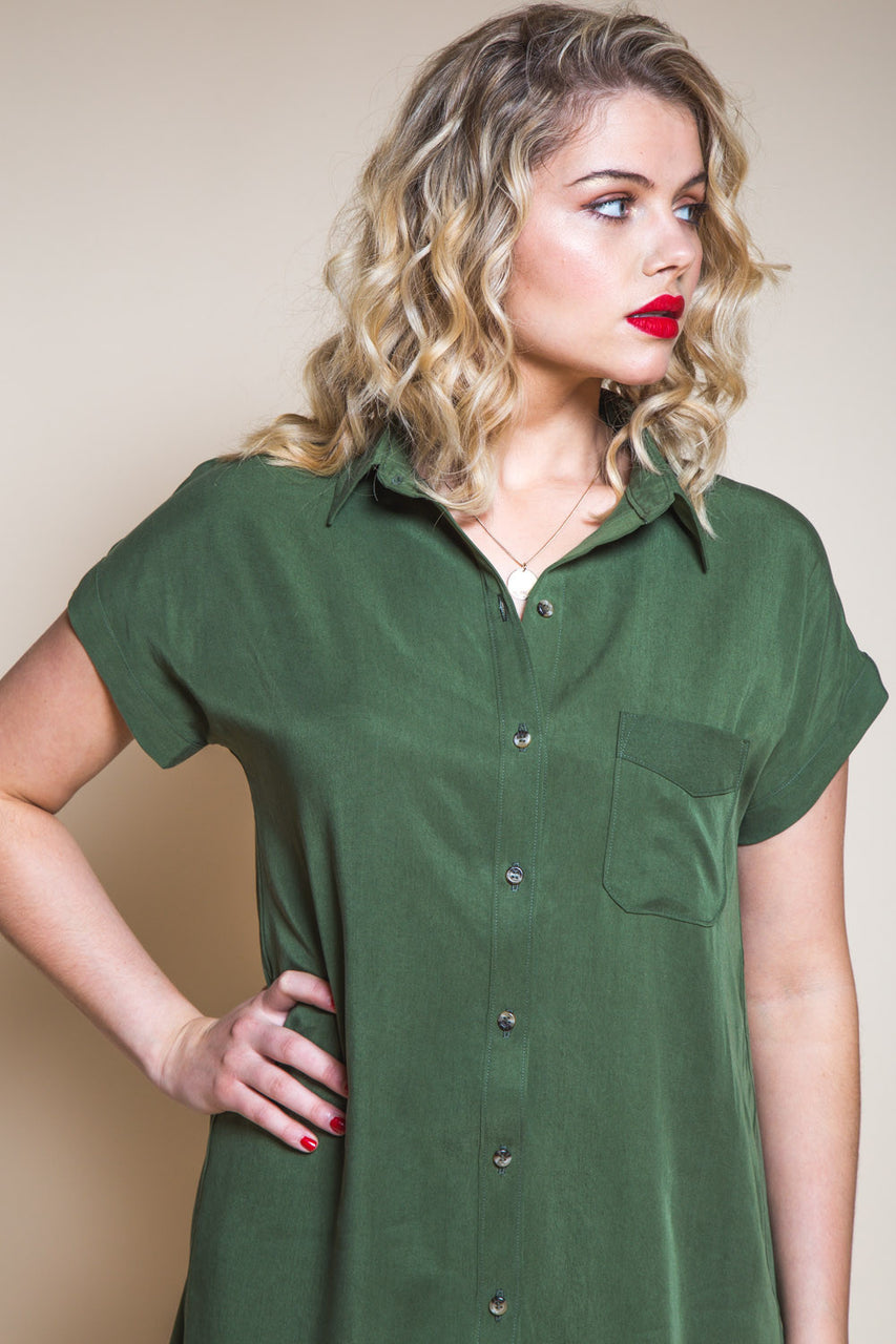 Kalle Shirt-Dress Pattern // Closet Case Patterns