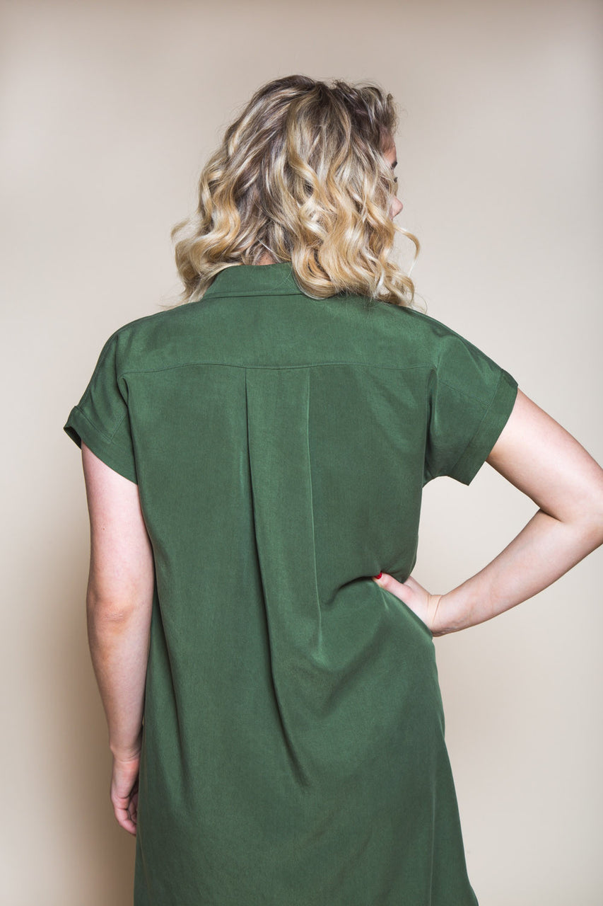 Kalle Shirt-Dress Pattern // Closet Core Patterns