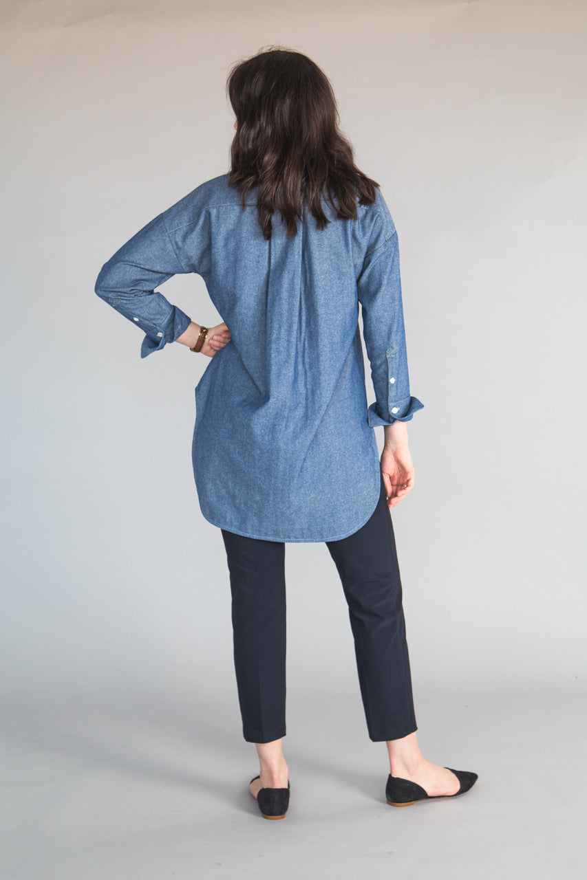 Kalle Shirtdress Sleeve Expansion // Closet Case Patterns
