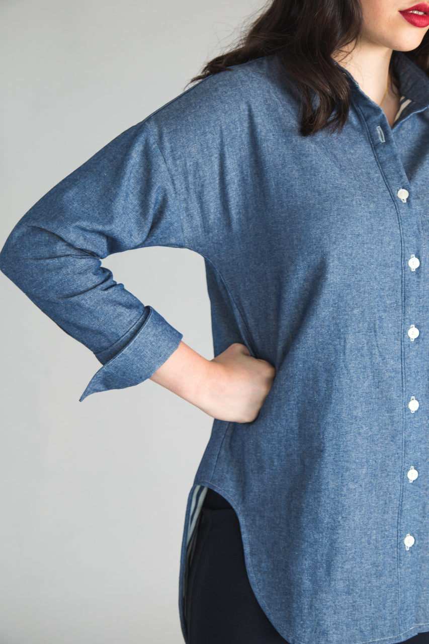 SLEEVE EXPANSION FOR KALLE SHIRTDRESS