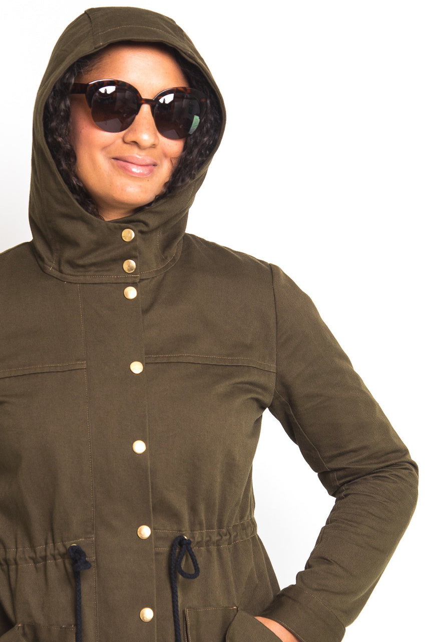 Kelly Anorak // Jacket sewing pattern // Closet Core Patterns