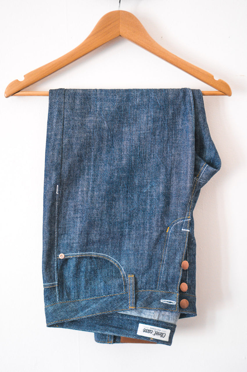 Morgan Boyfriend Jeans pattern // by Closet Case Patterns