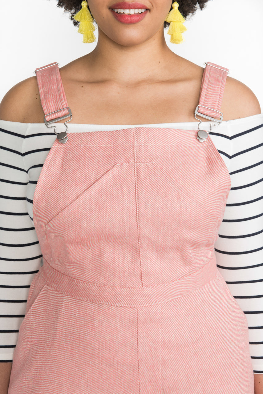 Overall buckles & sliders | Dungaree buckles | Silver finish // Hardware kit by Closet Case Patterns