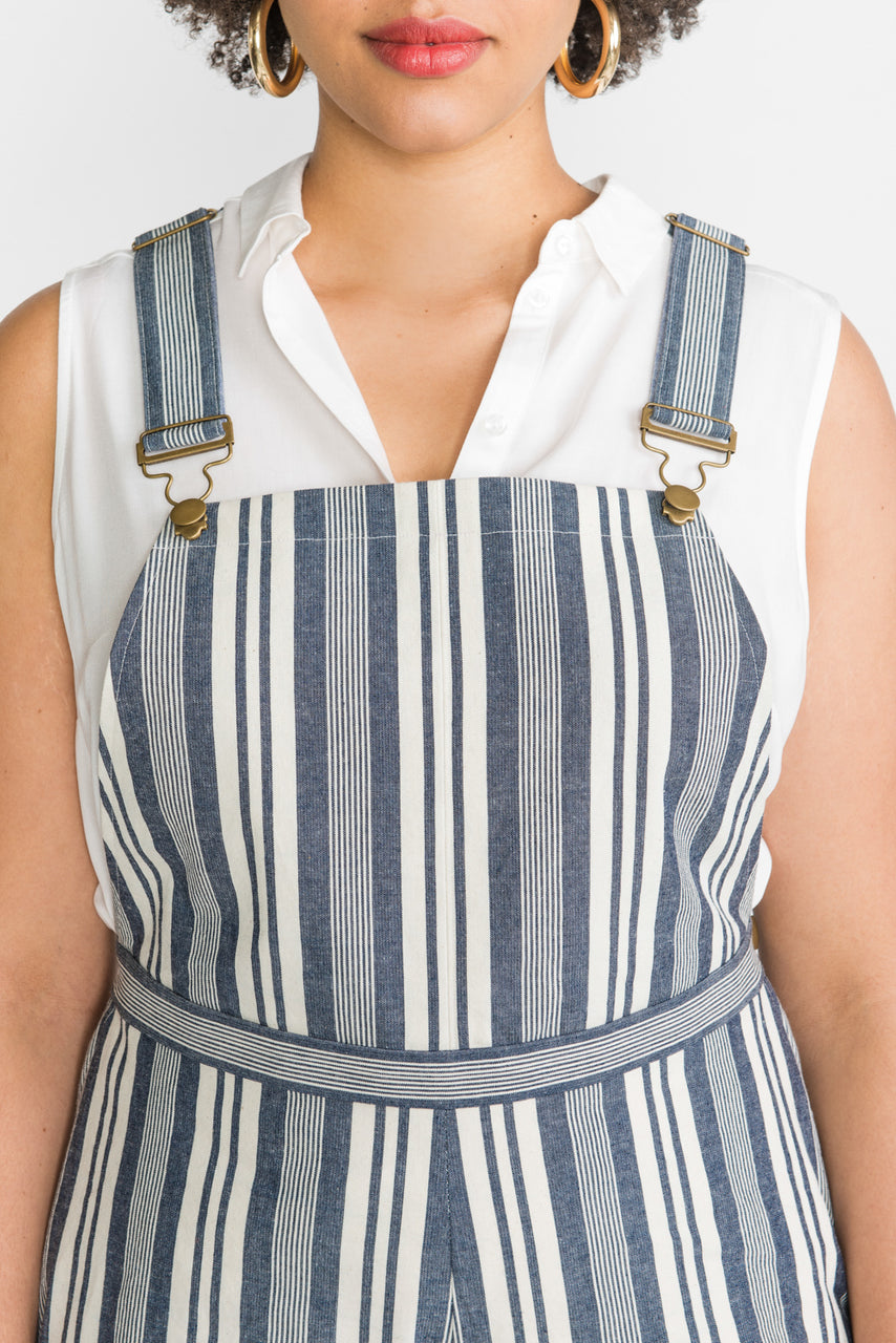 Overall buckles & sliders | Dungaree buckles | Antique Brass finish // Hardware kit by Closet Case Patterns