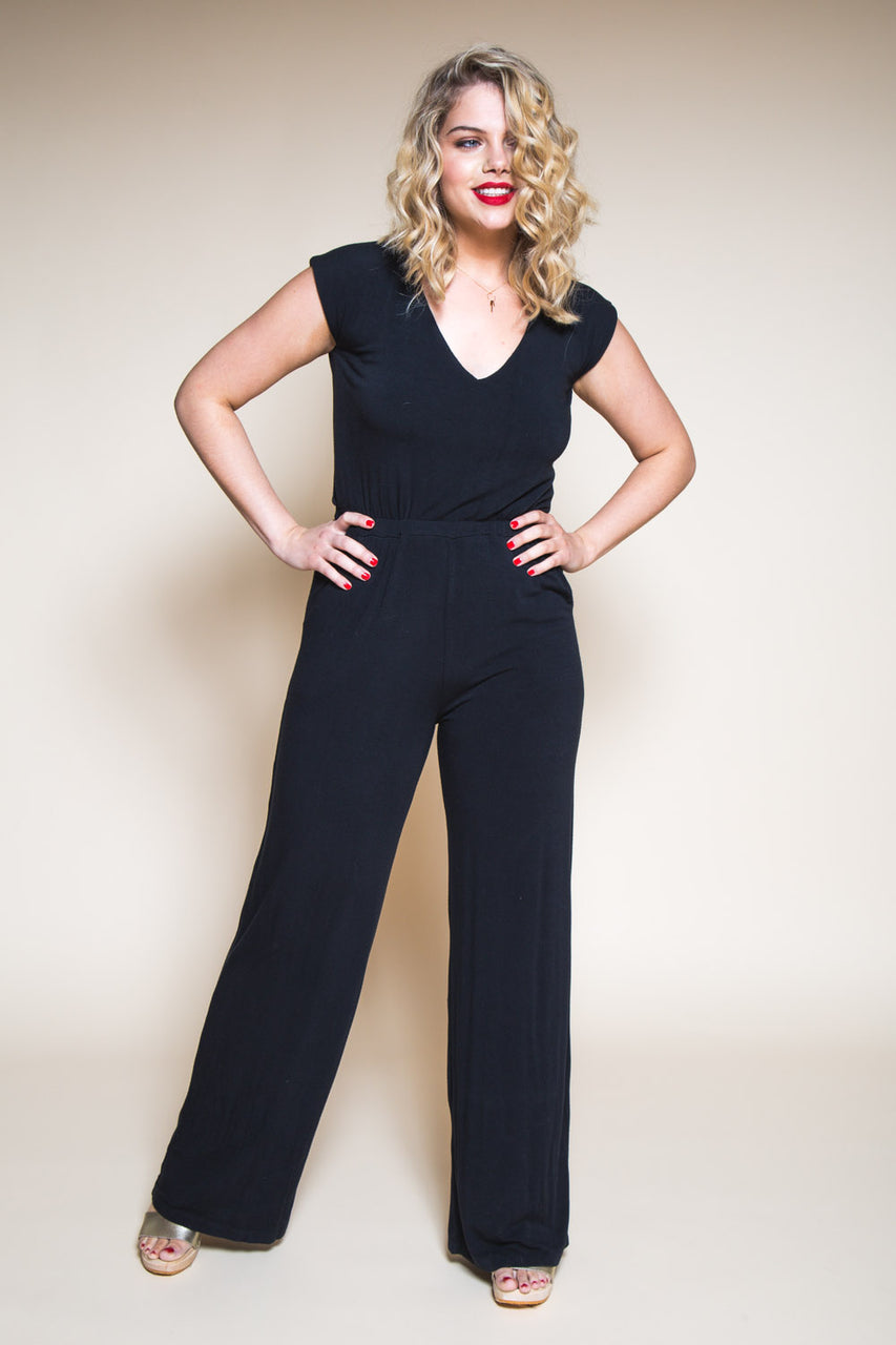 Sallie Jumpsuit Pattern // Womens Jumpsuit Pattern // Closet Core Patterns