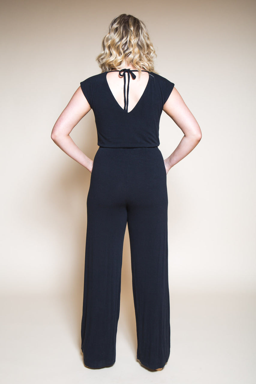 Womens Jumpsuit Pattern // Sallie Jumpsuit Pattern // Closet Core Patterns