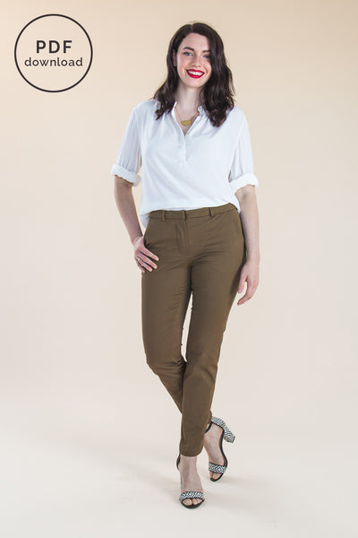 Sasha Trousers Pattern | PDF Download // by Closet Case Patterns