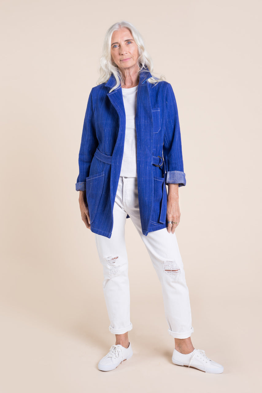 Sienna Maker Jacket Pattern - Mid length // Utility and Chore Jacket Pattern // Closet Core Patterns