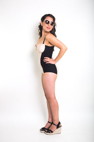 Sophie Swimsuit Pattern // One piece bustier swimsuit pattern // Closet Case Patterns