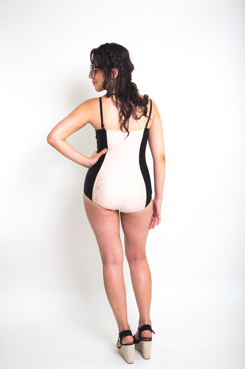Sophie Swimsuit Pattern // One piece bustier swimsuit pattern // Closet Core Patterns