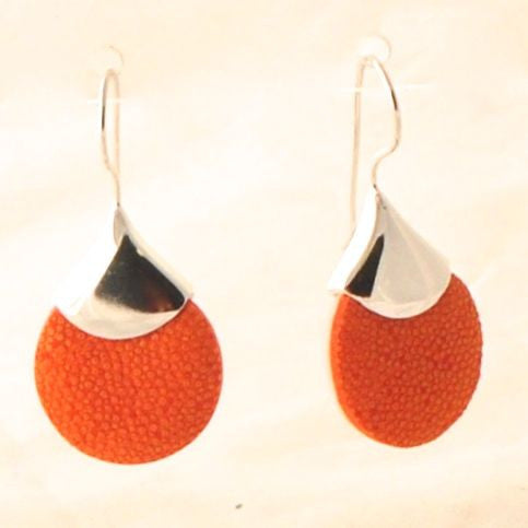 Shagreen Earrings