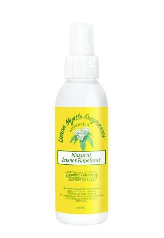 DEET Free natural insect repellent 125mll for the family home or travelling. A natural product for bites and stings, effective for mozzies, flies and leeches contains only natural ingredients including essential oils from Australian botanicals, and is free from DEET.