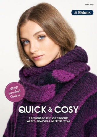 PATONS BOOK 8021 QUICK & COSY