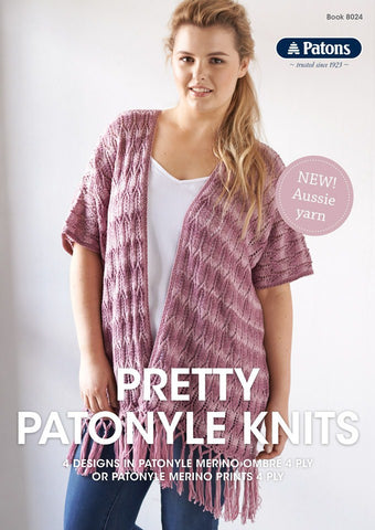 PATONS PRETTY PATONYLE KNITS BOOK