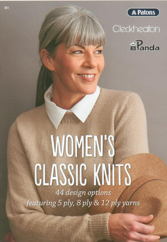 WOMENS CLASSIC KNITS BOOK 301