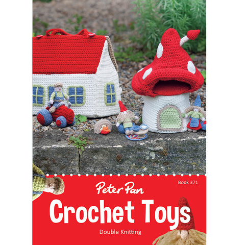 PETER PAN BOOK 371 CROCHET TOYS