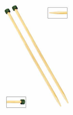 KNITPRO BAMBOO SINGLE POINTED KNITTING NEEDLES