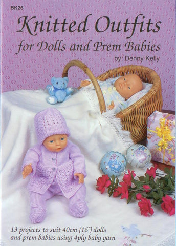 KNITTED OUTFITS BOOK BK26