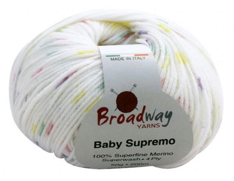 BROADWAY YARNS BABY SUPREMO 4PLY