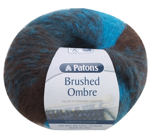 PATONS BRUSHED OMBRE 14PLY