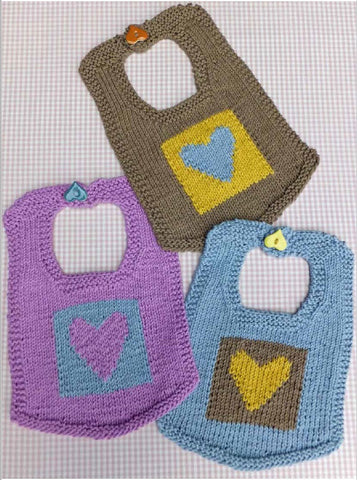 WENDY LEAFLET HEARTY BIB DIGITAL DOWNLOAD