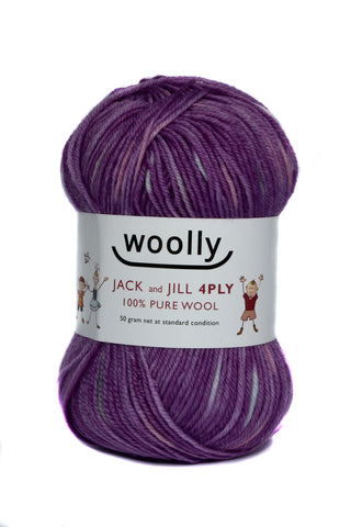 WOOLLY JACK & JILL 4PLY