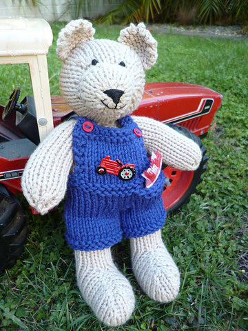 CJ PATTERN JIM BOB BEAR RED