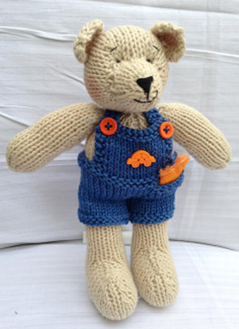 CJ PATTERN JIM-BOB BEAR ORANGE