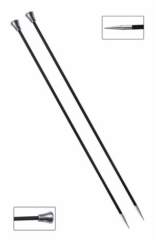 KNITPRO KARBONZ SINGLE POINTED KNITTING NEEDLES