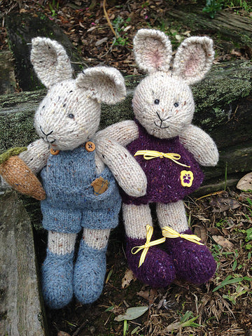 CJ PATTERN PETER AND PANSY RABBIT