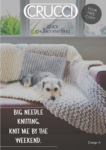 CRUCCI QUICK CHUNKY KNITTING DIGITAL DOWNLOAD