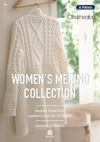 WOMENS MERINO COLLECTION BOOK 303