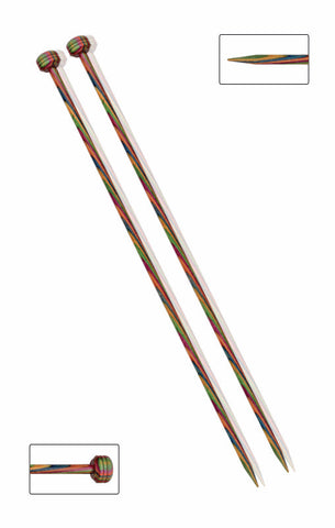 KNITPRO SYMFONIE SINGLE POINTED KNITTING NEEDLES