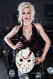 Jason Mask Latex Dress