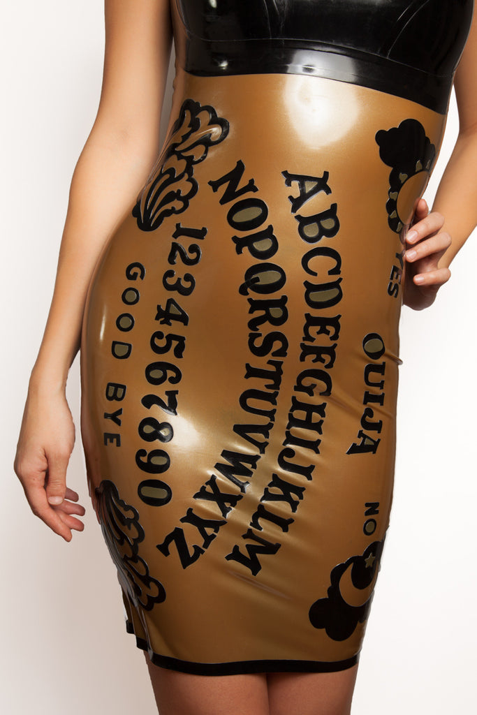 Ouija Board Latex Dress