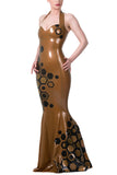 Queen Bee Latex Gown