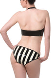 Striped Latex Panty