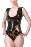 Queen Bee Latex Bodysuit