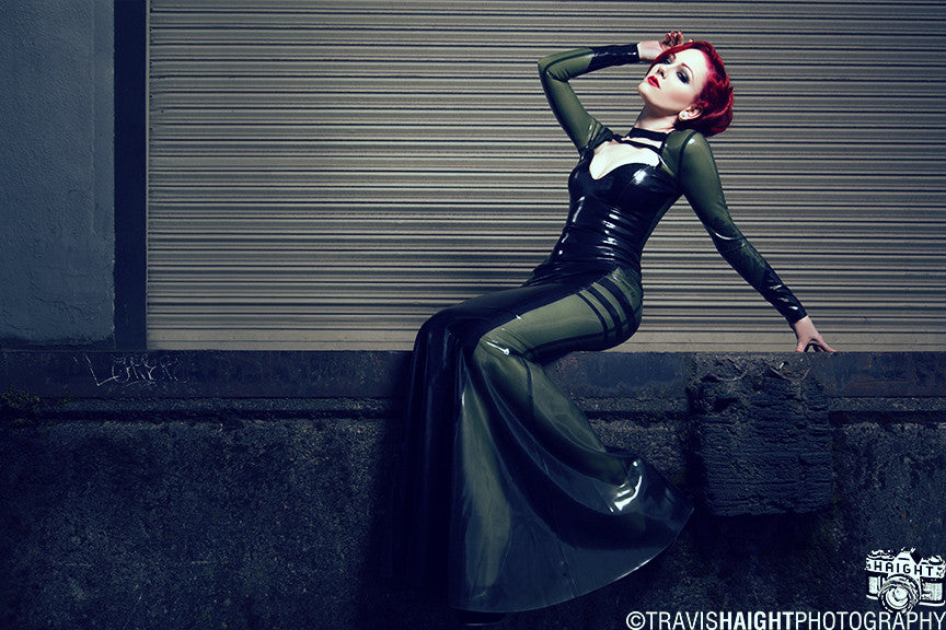Valkyrie Latex Gown