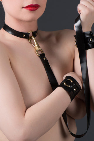 Latex O-Ring Collar and Leash