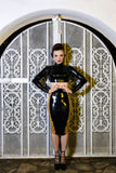 Bardot Latex Pencil Skirt
