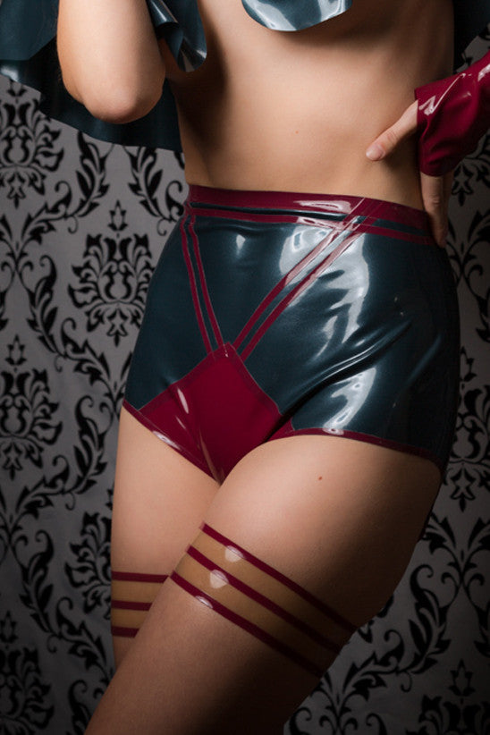 Mishalla Latex Garters
