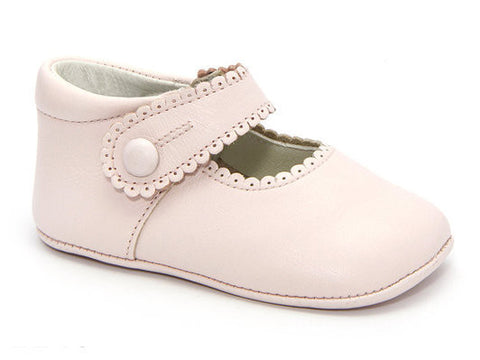 Patucos Infant Classic Pink Shoes for Girls
