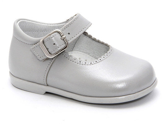 Patucos Infant Grey Shoes for Girls
