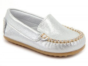 Patucos Infant Casual Silver Shoes for Girls