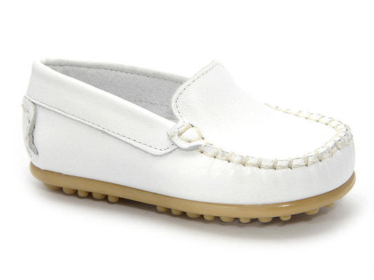 Patucos Infant Casual White Shoes for Boys and Girls
